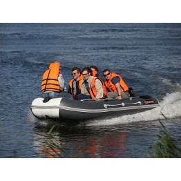 Надувная 5-местная ПВХ лодка ALBATROS AV-360S